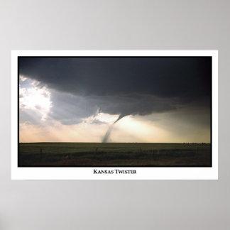 Kansas Twister Poster
