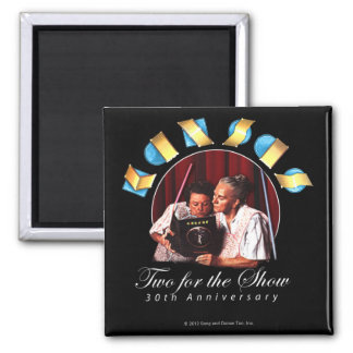 KANSAS - Two for the Show (Anniversary) 2 Inch Square Magnet