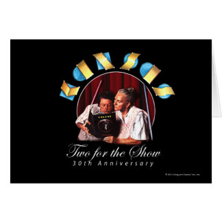 KANSAS - Two for the Show Anniversary Greeting Card