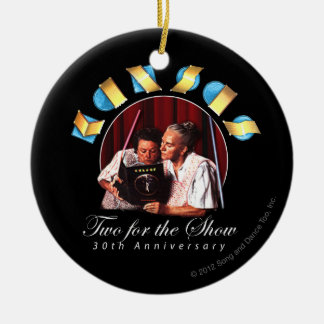 KANSAS - Two for the Show (Anniversary) Ceramic Ornament