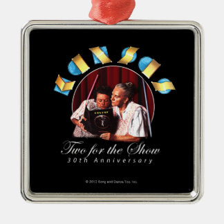 KANSAS - Two for the Show (Anniversary) Metal Ornament