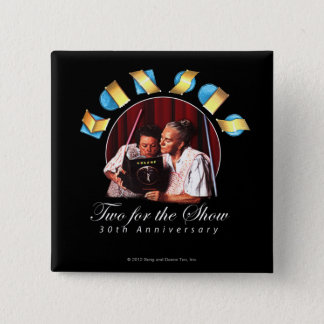 KANSAS - Two for the Show (Anniversary) Pinback Button