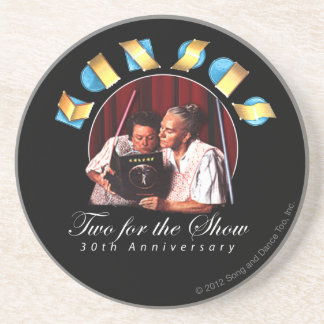 KANSAS - Two for the Show (Anniversary) Sandstone Coaster