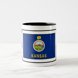 Kansas Two-Tone Coffee Mug