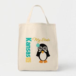 Kansas USA Penguin Bags