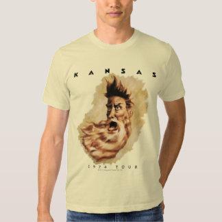 KANSAS - viaje 1974 Camisas