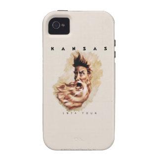 KANSAS - viaje 1974 Case-Mate iPhone 4 Carcasa