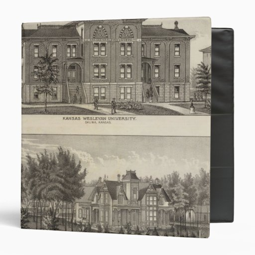 Kansas Wesleyan University Binder