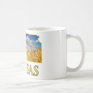 Kansas Wheat Field Classic White Coffee Mug