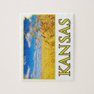 Kansas Wheat Field Jigsaw Puzzle