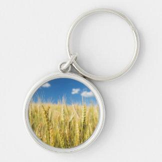 Kansas Wheat Keychain