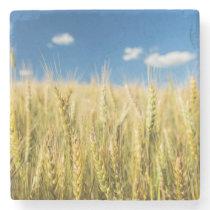 Kansas Wheat Stone Coaster