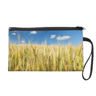 Kansas Wheat Wristlet