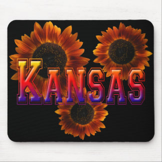 Kansas with Sunflower Mouse Pad