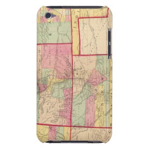 Kansas, y Arizona, Colorado, New México, Utah iPod Touch Case-Mate Fundas