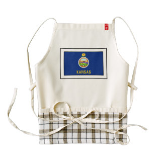 Kansas Zazzle HEART Apron