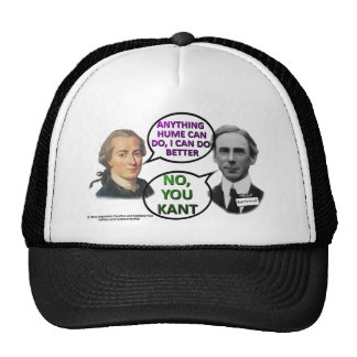 Kant and Bertrand Comedy Duo Trucker Hat