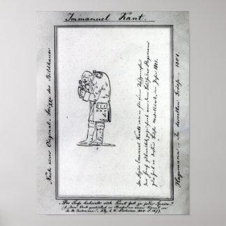 Kant mixing mustard, 1801 poster
