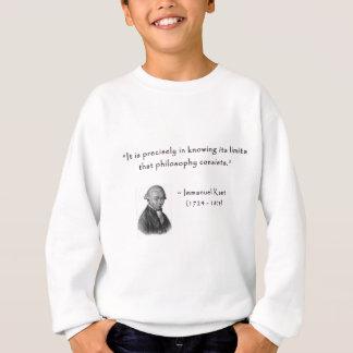 kant_quote_02d_limits_philosophy.gif sweatshirt