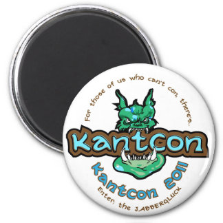 KantCon 2011 Exclusives 2 Inch Round Magnet