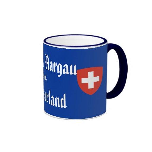 Kanton Aargau*, taza de Suiza