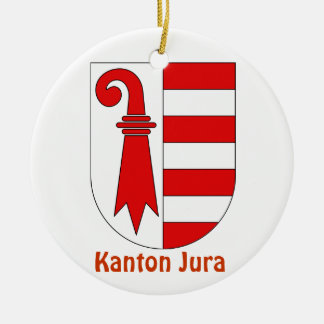 Kanton Jura*, Switzerland Christmas Ornament