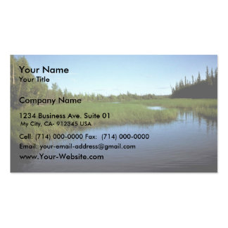 Kanuti Refuge Landscape Business Card