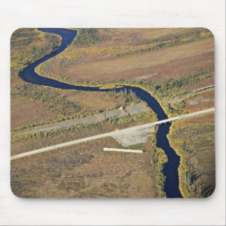Kanuti River and Dalton Highway river crossing Mouse Pad