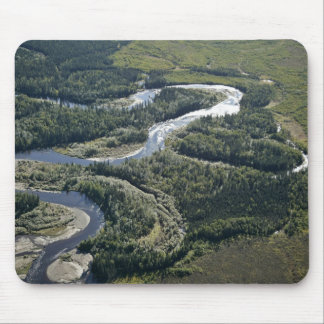Kanuti River oxbows Mouse Pads
