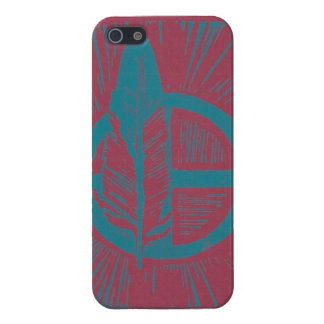 Kanza linocut iPhone 5/5S case
