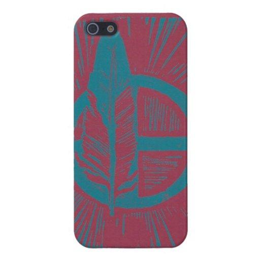 Kanza linocut iPhone 5/5S case