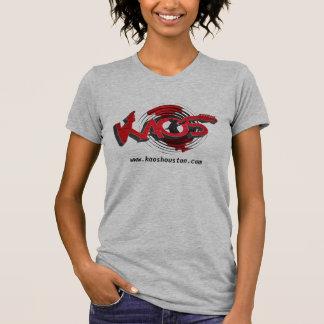 KAOS Band - ladies grey T-shirt