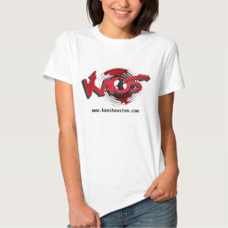 KAOS Band - ladies white T-shirt