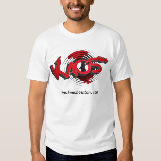KAOS Band - white T Shirt