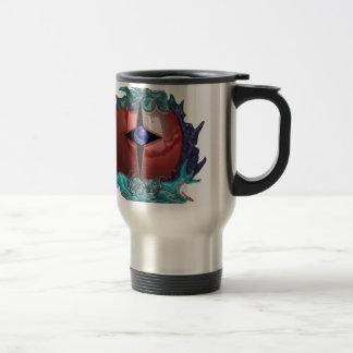 kaos droid 15 oz stainless steel travel mug