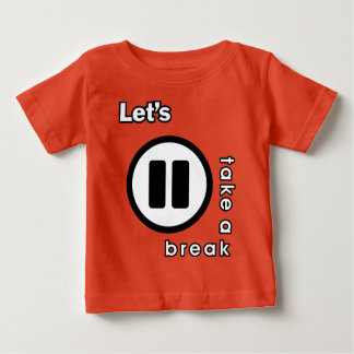 KAOS INUKREASI PLAYER ICONS - LETS TAKE A BREAK V. BABY T-Shirt