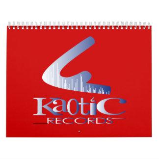 Kaotic 2010 Kalender Calendario