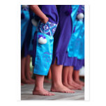 Kapa femenino Haka Waitangi de baile maorí Tarjetas Postales