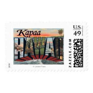 Kapaa, letra ScenesKapaa, HI de HawaiiLarge Sello
