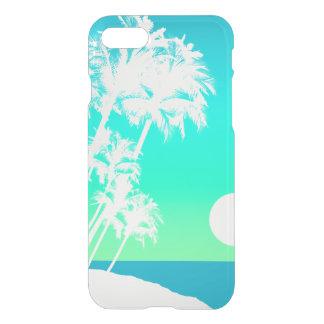 Kapaa Sunset Hawaiian Palm Tree Scenic iPhone 7 Case