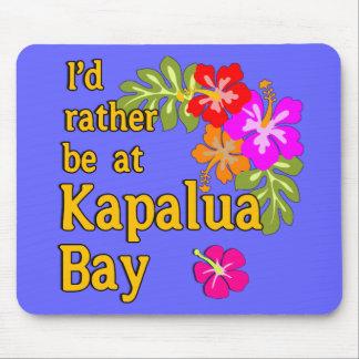 Kapalua Bay HAWAII I'd Rather be at Kapalua Bay Mouse Pad