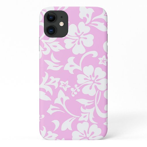 Kapalua Pareau Hawaiian Hibiscus Pink iPhone 11 Case