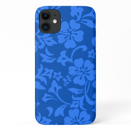 Kapalua Pareau Hawaiian Hibiscus Royal iPhone 11 Case