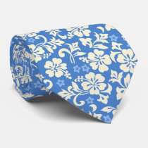 Kapalua Pareau Hawaiian Hibiscus Two-Sided Printed Tie