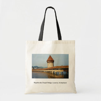 Kapelbruke Chapel Bridge, Lucerne, Switzerland Bag