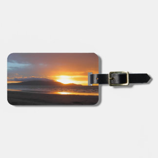 Kapiti Island sunset paradise Luggage Tag