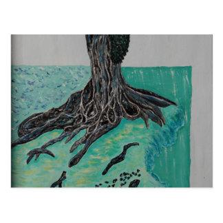 Kapok árbol 8 de marzo tarjeta postal