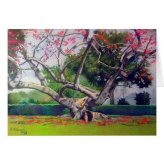 """Kapok Tree"" Card"