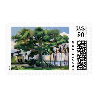 Kapok Tree postage stamp