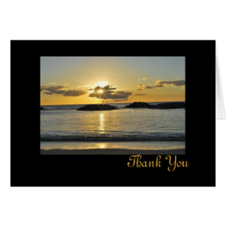 Kapolei Beach Thank You Card